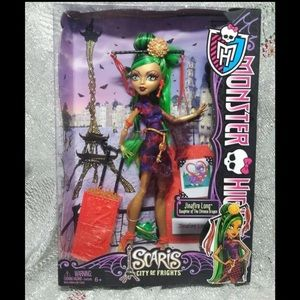 Monster High Scaris City of Frights Jinafire Doll